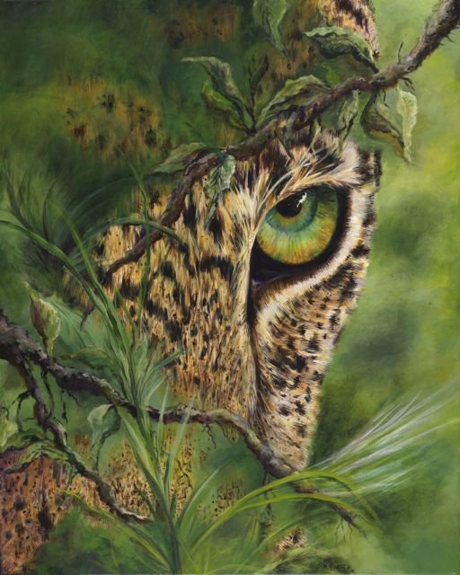 The Eye created by Myra Goldick