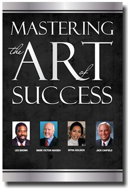 Mastering the Art of Success book cover - click to view press release