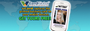 Get your vCard Global Free today